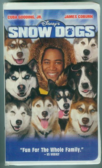 Disney's Snow Dogs (VHS, May 2002)