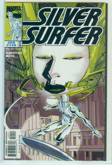 MARVEL COMICS SILVER SURFER #140 (1998)