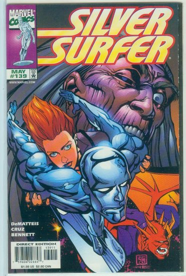 MARVEL COMICS SILVER SURFER #139 (1998)