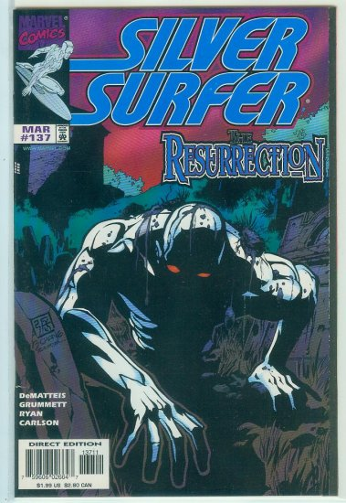 MARVEL COMICS SILVER SURFER #137 (1998)