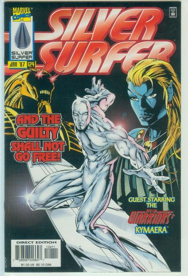 MARVEL COMICS SILVER SURFER #124 (1997)