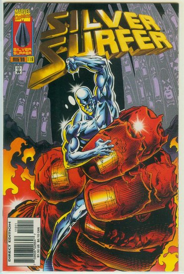 MARVEL COMICS SILVER SURFER #119 (1996)