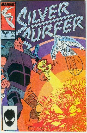 MARVEL COMICS SILVER SURFER #5 (1987)