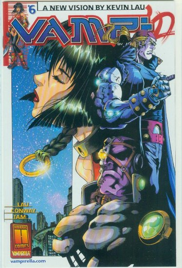 HARRIS COMICS VAMPI #6 (2001)