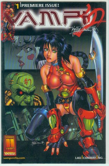 HARRIS COMICS VAMPI #1 (2000)