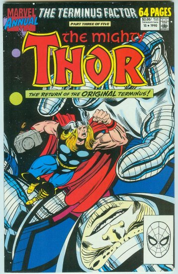 MARVEL COMICS THOR ANNUAL #15 (1990)