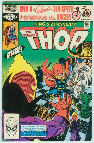 MARVEL COMICS THOR ANNUAL #9 (1981)