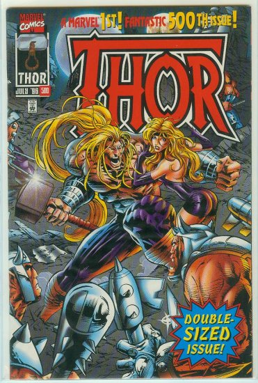 MARVEL COMICS THOR #500 (1996)