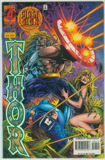 MARVEL COMICS THOR #496 (1996)