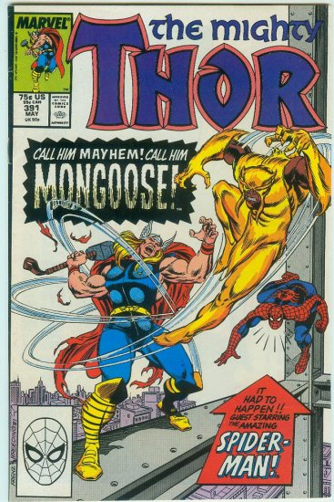 MARVEL COMICS THOR #391 (1989)