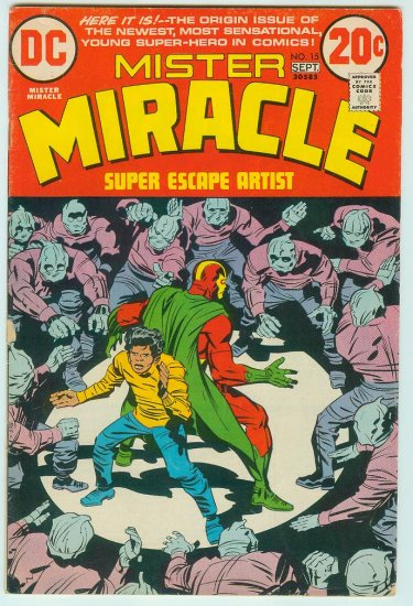MISTER MIRACLE #15 (1973) BRONZE AGE