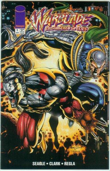 WARBLADE ENDANGERED SPECIES #1 (1995)