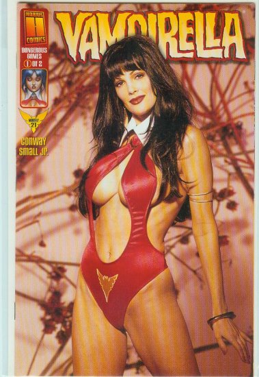 HARRIS COMICS VAMPIRELLA #21c VARIANT PHOTO COVER (1999)
