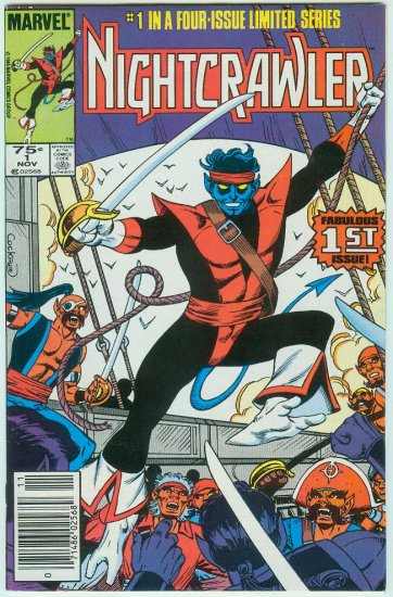 MARVEL COMICS NIGHTCRAWER #1 OF 4 (1985)
