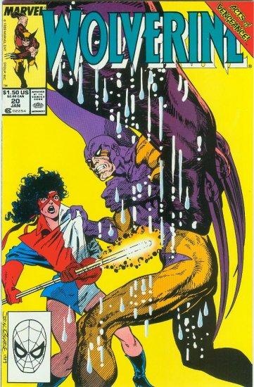 MARVEL COMICS WOLVERINE #20 (1990)