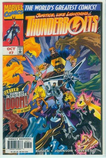 THUNDERBOLTS #7  (1997)
