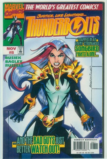 THUNDERBOLTS #8 (1997)