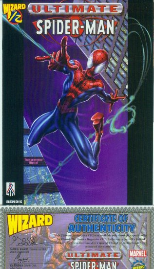 ULTIMATE SPIDER-MAN/WIZARD #1/2 (2002)