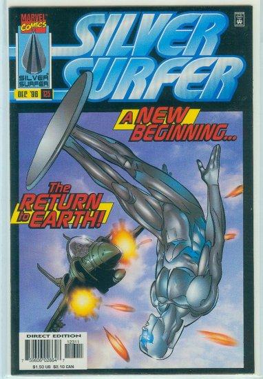 MARVEL COMICS SILVER SURFER #123 (1996)
