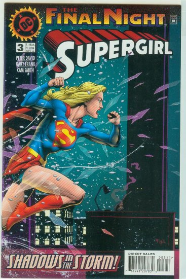 DC COMICS SUPERGIRL #3 (1996)