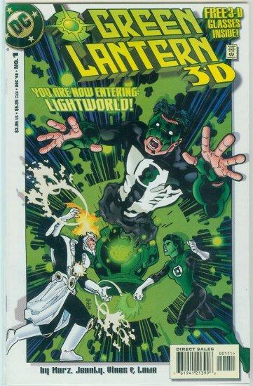 GREEN LANTERN 3-D #1 (1998)