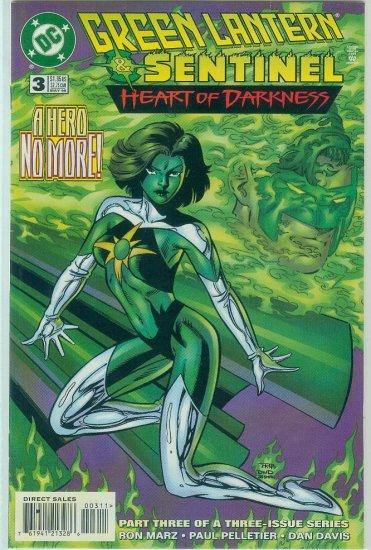 GREEN LANTERN/SENTINEL HEART OF DARKNESS #3 of 3 (1996)