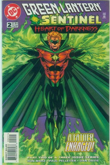 GREEN LANTERN/SENTINEL HEART OF DARKNESS #2 of 3 (1996)