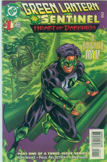GREEN LANTERN/SENTINEL HEART OF DARKNESS #1 of 3 (1996)