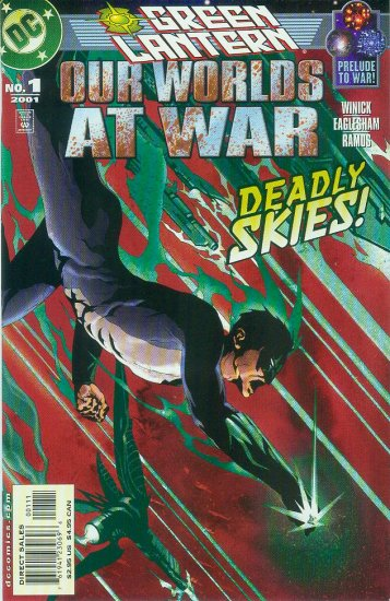 GREEN LANTERN OUR WORLDS AT WAR #1 (2001)
