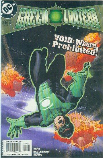 GREEN LANTERN #166 (2003)