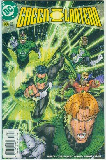 GREEN LANTERN #150 (2002)