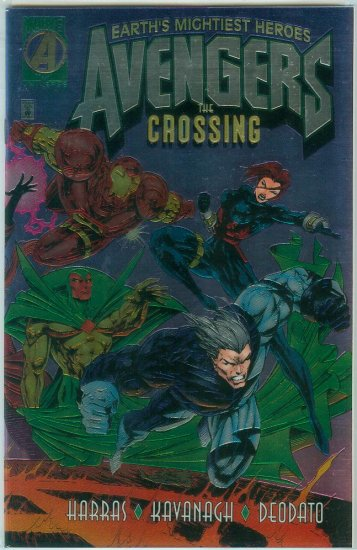 AVENGERS THE CROSSING (1995)