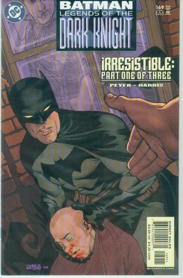 Legends Of The Dark Knight #169 (2003)