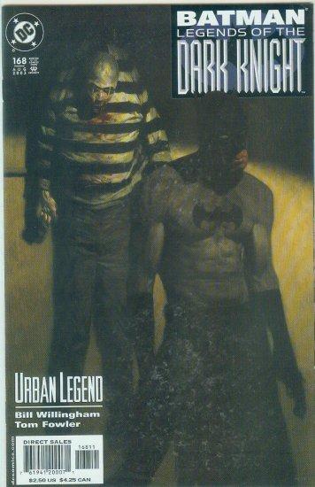 Legends Of The Dark Knight #168 (2003)