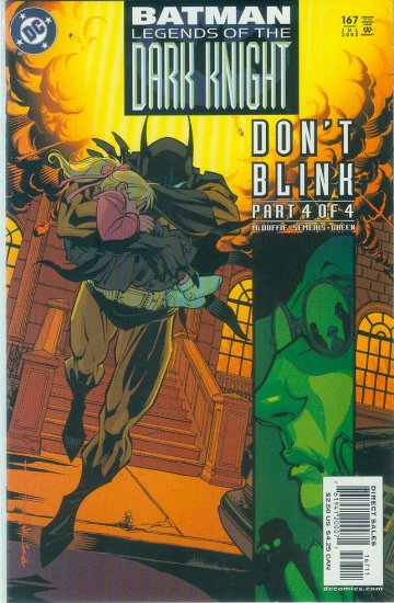 Legends Of The Dark Knight #167 (2003)