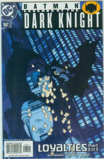 Legends Of The Dark Knight #160 (2002)
