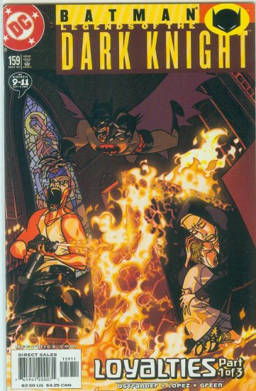 Legends Of The Dark Knight #159 (2002)