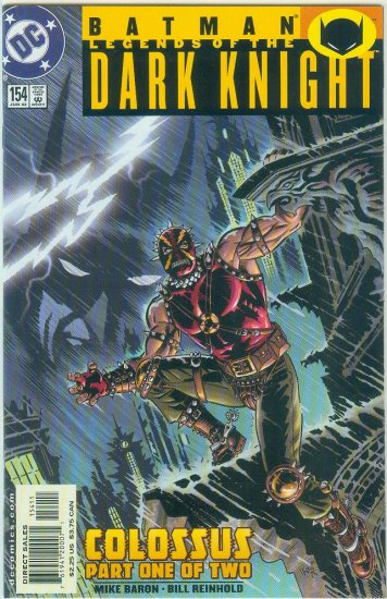 Legends Of The Dark Knight #154 (2002)