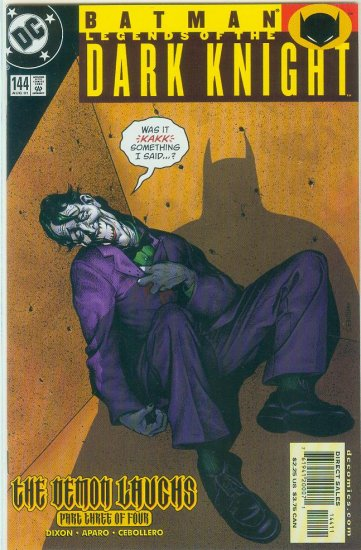 Legends Of The Dark Knight #144 (2001)