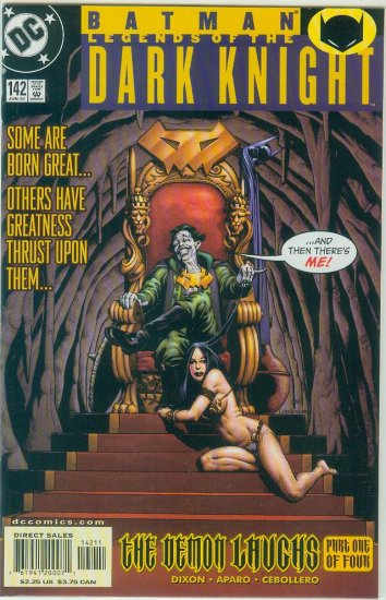 Legends Of The Dark Knight #142 (2001)