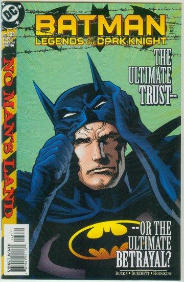 Legends Of The Dark Knight #125 (2000)