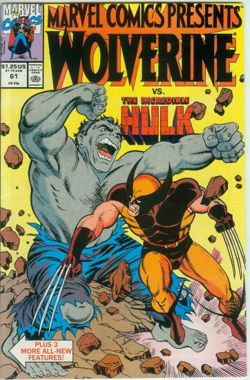 Marvel Comics Presents Wolverine #61 (1990)