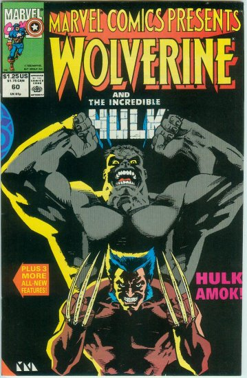 Marvel Comics Presents Wolverine #60 (1990)