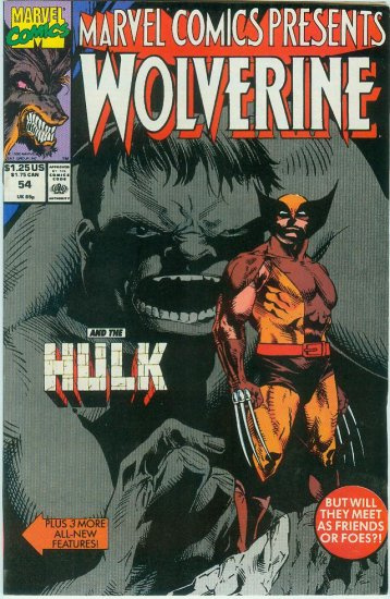 Marvel Comics Presents Wolverine #54 (1990)