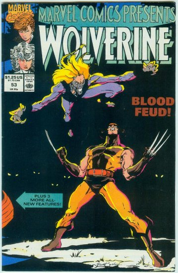 Marvel Comics Presents Wolverine #53 (1990)