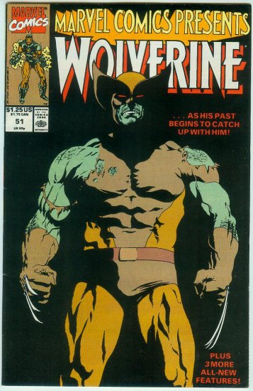 Marvel Comics Presents Wolverine #51 (1990)