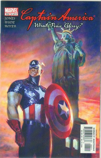 Captain America What Price Glory #4 (2003)