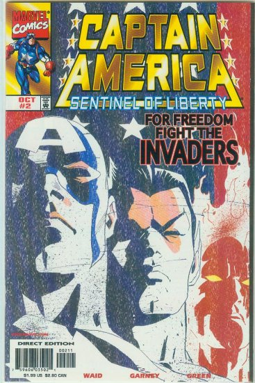 Captain America Sentinel Of Liberty #2 (1998)