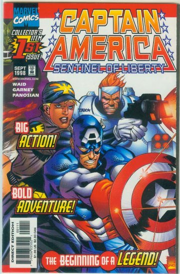 Captain America Sentinel Of Liberty #1 (1998)