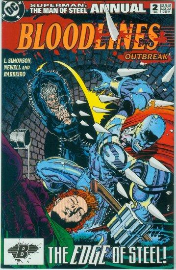 Man Of Steel Annual #2 (1993)